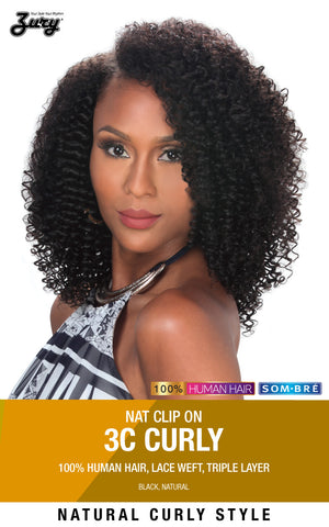 Zury Naturali Star 3C Curly 16