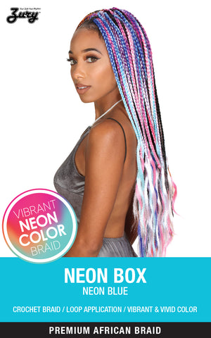 Zury Synthetic Braid Neon Box