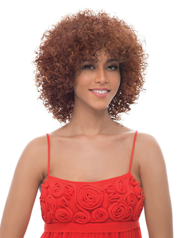 Janet Collection Elino New Easy & Quick Synthetic Half Wig