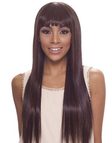 Janet Collection Tinashe New Easy & Quick Synthetic Half Wig