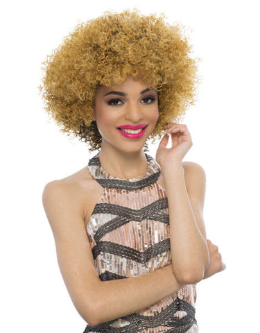 Janet Collection Venice New Easy & Quick Synthetic Half Wig