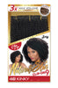 "Zury Naturali Star 4B Kinky 16"" Clip On 9 Pieces 100% Human Hair Clip & Go"