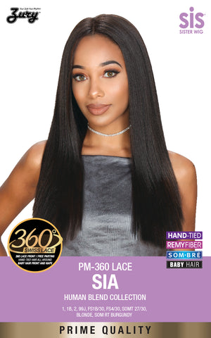 Zury PM-360 Lace Sia Human Blend Lace Front Wig