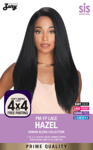 Zury Sis PM-FP Lace Hazel Human Blend Collection