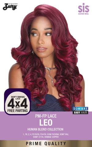 Zury Sis PM-FP Leo Lace Front Wig Human Blend Collection