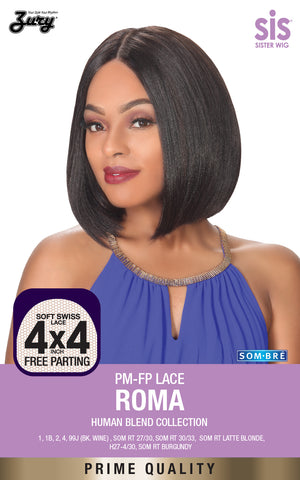 Zury Sis PM-FP Roma Lace Front Wig Human Blend Collection