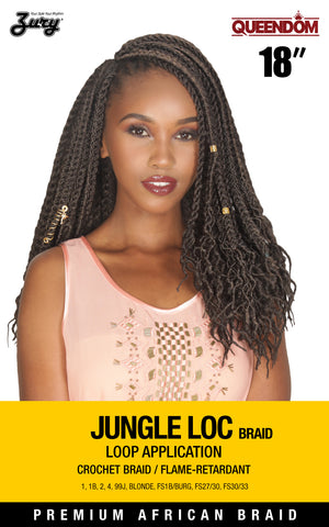 Zury Queendom Jungle Loc Braid 18