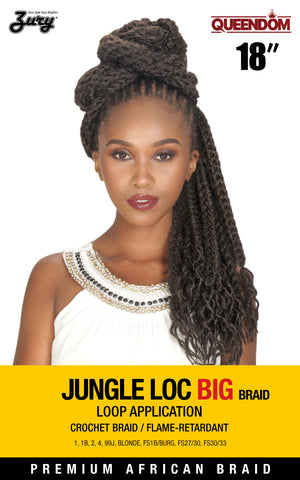 Zury Queendom Jungle Loc Big Braid 18