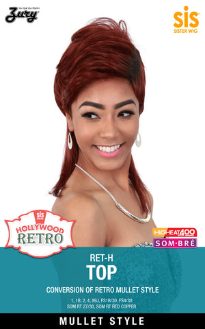 Zury RET-H Top Hollywood Retro Synthetic Wig