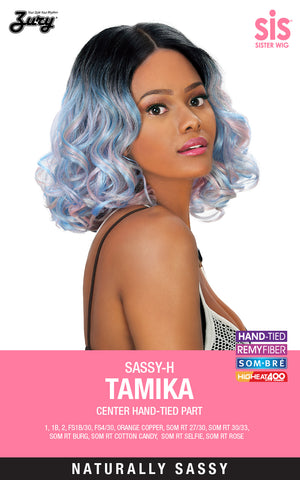 Zury Sis Sassy-H Tamika Synthetic Wig
