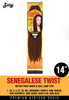 Zury Senegalese Twist 14 Synthetic Braiding Hair - ufuzzy