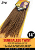 Zury Senegalese Twist 14 Synthetic Braiding Hair - ufuzzy - 2