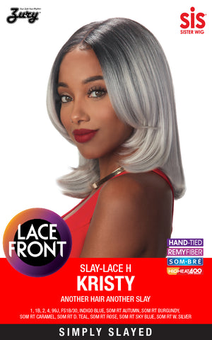 Zury Slay-Lace H Kristy Synthetic Lace Front Wig