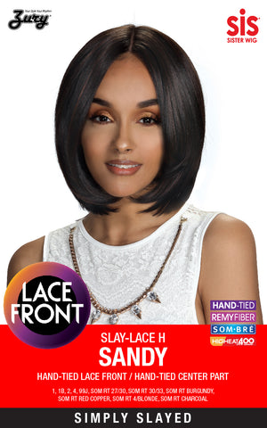 Zury Slay-Lace H Sandy Synthetic Lace Front Wig