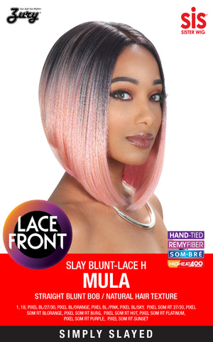 Zury Slay-Blunt H Mula Synthetic Lace Front Wig