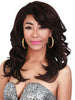 Zury Swiss Lace Ferry SW-LACE H Pre-tweezed Part Synthetic Lace Front Wig - ufuzzy - 3
