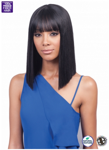 Bobbi Boss MLF184 Yara Bang Synthetic Lace Front Wig