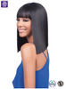 Bobbi Boss MLF184 Yara Bang Synthetic Lace Front Wig - ufuzzy