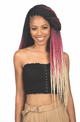 Bobbi Boss Bomba Senegal Twist Braiding Hair