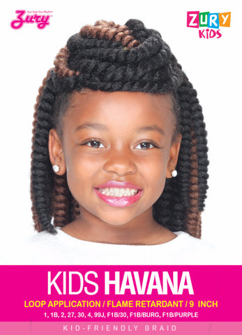 Zury Kids Havana Braid Synthetic Braiding Hair