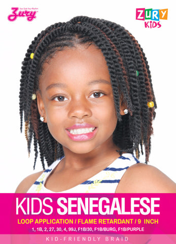 Zury Kids Senegalese Braid Synthetic Braiding Hair