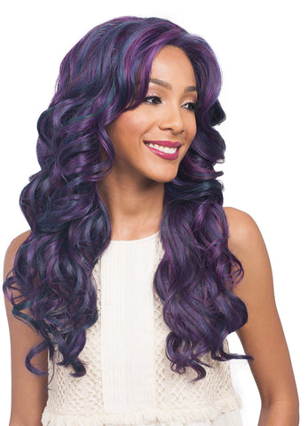 Bobbi Boss MLF 199 Black Pearl Synthetic Lace Front Wig