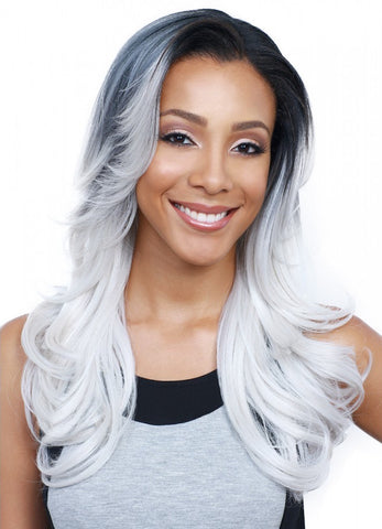 Bobbi Boss MLF 98 Shuju Synthetic Lace Front Wig