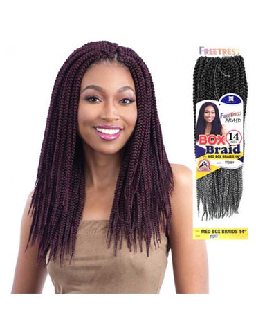 Freetress Medium Box Braids 14