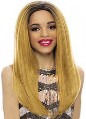 Janet Collection Cello New Easy & Quick Synthetic Half Wig