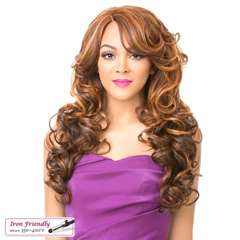 Its A Wig Dream A Line Lace Cerena Synthetic Lace Front Wig