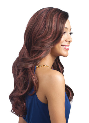 Bobbi Boss MBLF 200 Linaro Synthetic Lace Front Wig