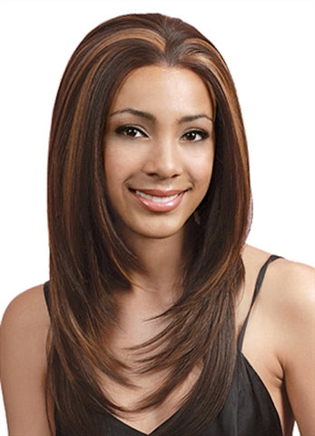 Bobbi Boss MLF 11 Lime Synthetic Lace Front Wig