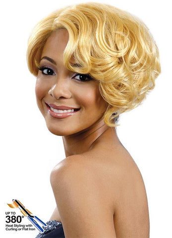 Bobbi Boss MLF 66 Saffron Synthetic Lace Front Wig