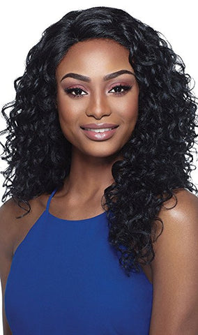 Outre Synthetic L-Part Amber Lace Front Wig
