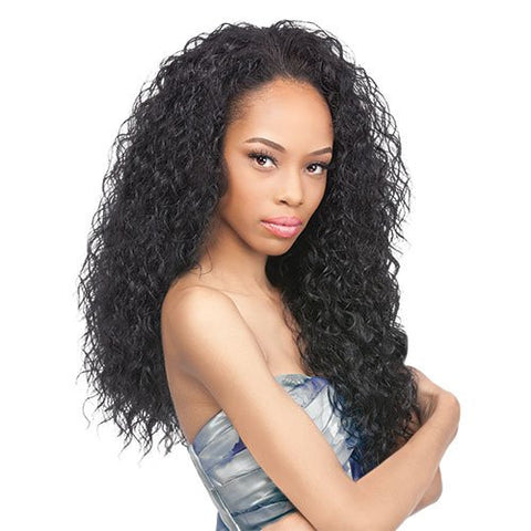 Outre Quick Weave Synthetic Batik Peruvian Half Wig