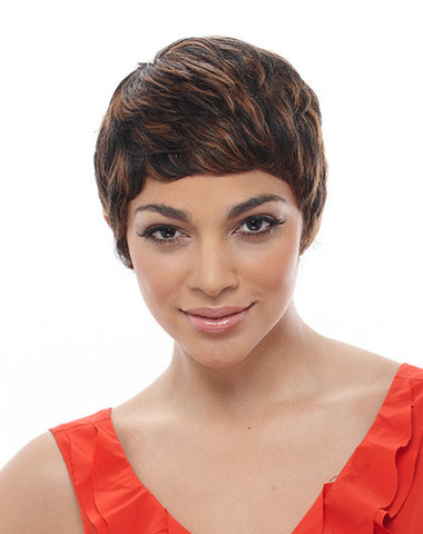 Janet Collection H/H Short Stop Human Hair Wig