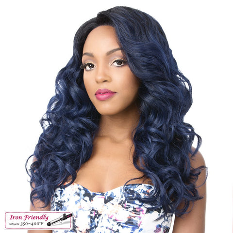 Its A Wig Lace Rich Super Swiss Synthetic Lace Front Wig