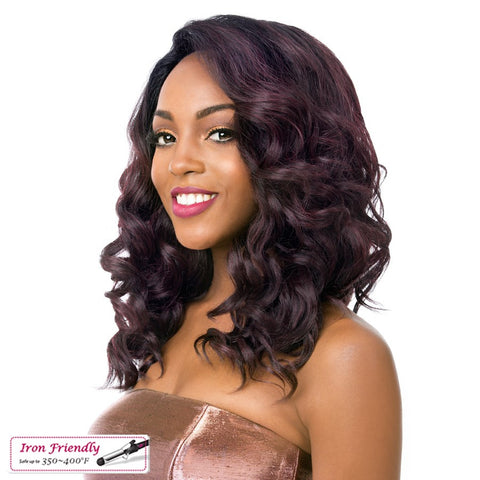 Its A Wig Lace Town Super Swiss Synthetic Lace Front Wig