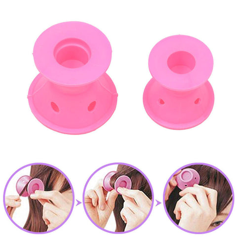 Heatless Hair Curlers