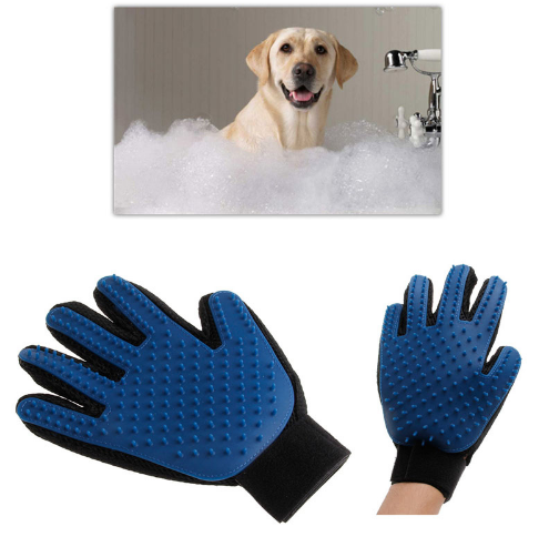 Glove Pet Grooming
