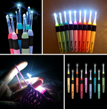 Crochet Light Up Hooks - 9 Sizes