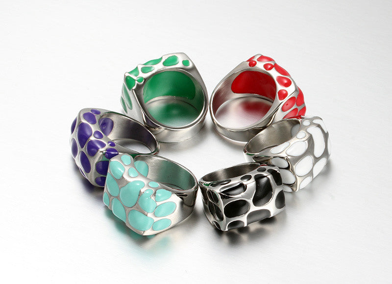 Multicolor Women's Rings