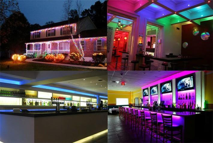 Color Changing LED Light Strip with Remote Control