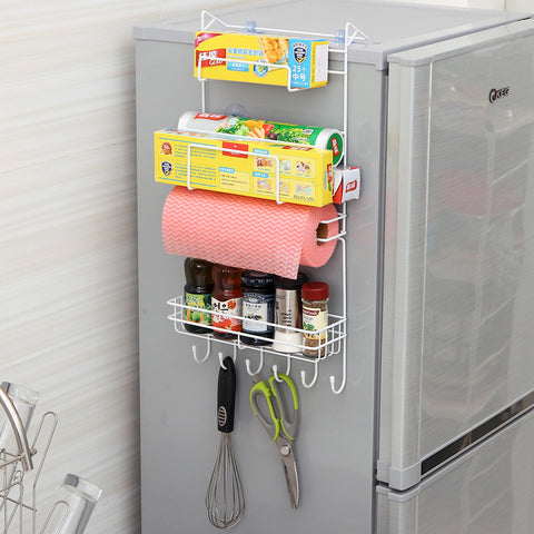 MyLifeUNIT Refrigerator Side Storage Rack