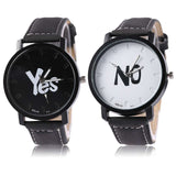 Yes / No Couple Watches