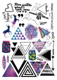 Diamond Tattoo Stickers
