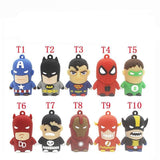 Marvel and DC USB Flash
