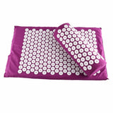 Acupressure Mat and Cushion Set