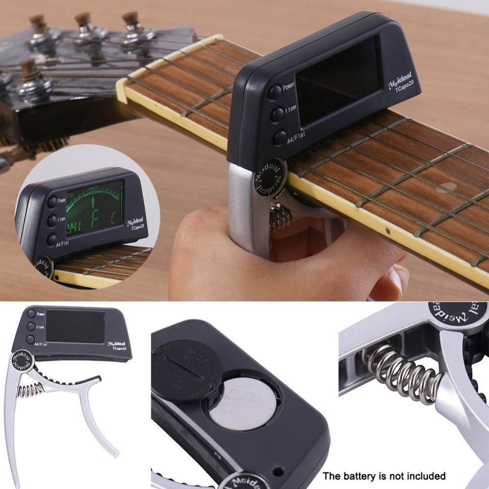 TRUE SOUND™ Capo Tuner