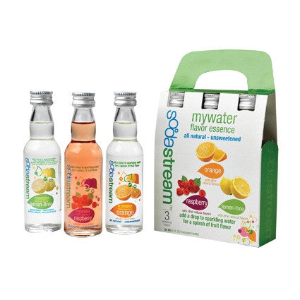 Sodastream - MyWater Flavor Essence - Variety 3 Pack